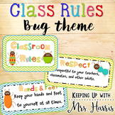 Bug Classroom Rules