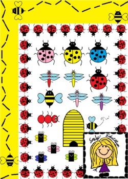 Bug Clip Art and Borders