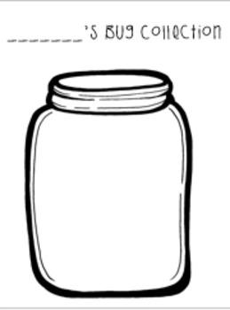 Bug Collection Jar Freebie