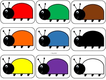 Bug Color Match Game
