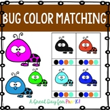 Bug Color Matching Clip Cards for Preschool, Prek, and Kin