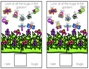 Bug Counting Adapted Book Bundle
