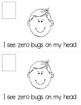 Bug Counting Book 0-10 Emergent Reader