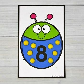 Bug Counting Mats #1-20