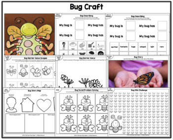 Bug Craft for Speech Therapy