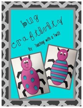 Bug Craftivity Freebie