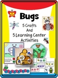 Bug Crafts and Learning Centers: Literacy and Math