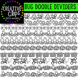 Bug Doodle Dividers {Creative Clips Digital Clipart}