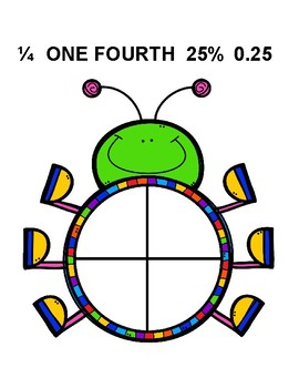 Bug Fractions - Posters & Activities