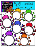 Bug Frames: Spring Clipart {Creative Clips Digital Clipart}
