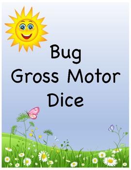 Bug Gross Motor Dice