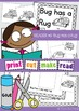 Bug Has a Rug Reader {Word Family Emergent Reader}