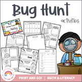 Bug Hunt Activities and Resources - Great for Distance Learning