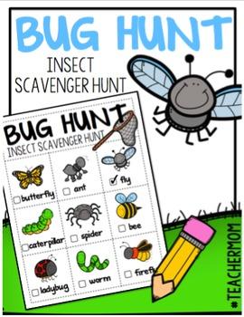 Bug Hunt: An Insect Scavenger Hunt