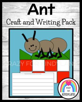 Bug / Insect Craft and Writing: Ant Picnic