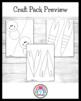 Bug / Insect Craft and Writing: Ant, Snail, Dragonfly, Lig