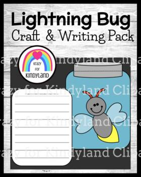 Bug / Insect Craft and Writing: Lightning Bug and Jar