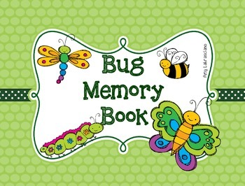 Bug Insect Memory Book