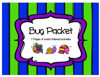 Bug/Insect Packet