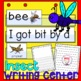 Bug Insect Pocket Chart Theme Word Cards