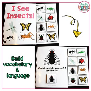 Bug & Insects: Interactive Books