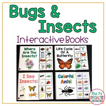 Bug and Insects Interactive Books {Adapted Books for Special Education}