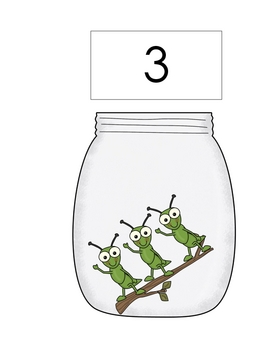 Bug Jar Math: Visual Discrimination, Positional Words, Counting&More!