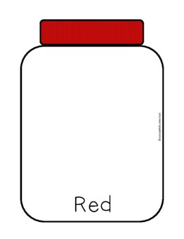 Jars for color sorting