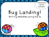 Bug Landing-Writing using low la
