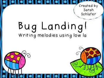 Bug Landing-Writing using low la