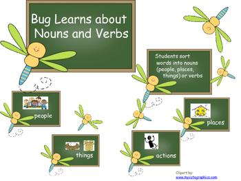 Bug Learns about Nouns and Verbs