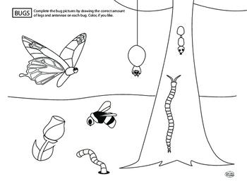 Bug Legs and Antennae