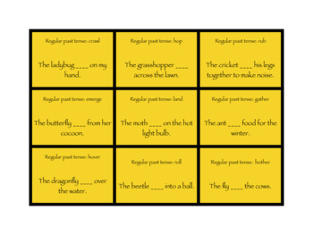 Bug Life Articulation, Grammar, and Vocabulary Game