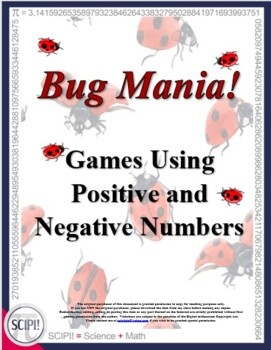 Bug Mania: Two Hands-On Algebra Games Using Positive and Negative Numbers