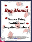 Bug Mania: Two Hands-On Math Games Using Positive and Nega