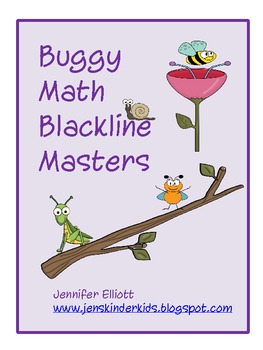 Bug Math Blackline Masters