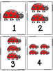 Bug Number Cards: Number Identification and Discrimination 1-100