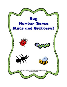 Bug Number Sense Mats and Critters