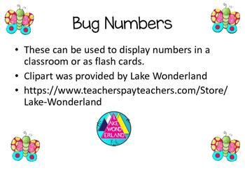 Bug Numbers