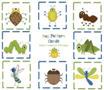 Bug Printable for Pocket Protectors