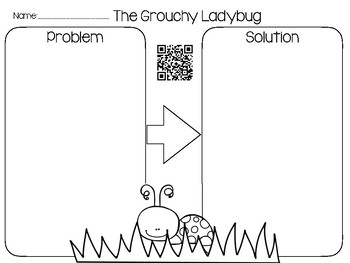 Bug QR Codes Read Aloud with Comprehension Sheets