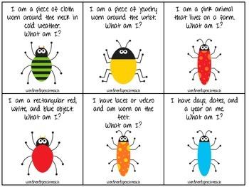Bug Riddles