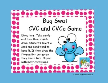 Bug SWAT CVC and CVCe Game