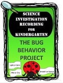 Bug Science Experiment Recording Sheet Pack