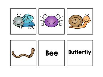 Bug Sentence Completion Book