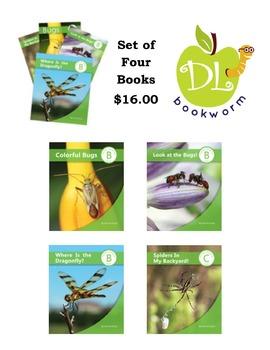 Bug Book Set for Beginning Readers
