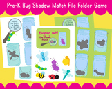 Bug Shape Match Insect Sorting Skills File Folder Game