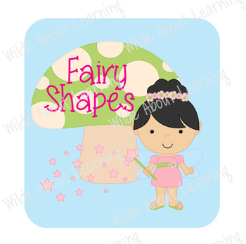 Fairy Shape Color Match Sorting Skills File Folder Game