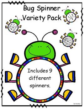Bug Spinner Variety Pack