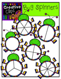 Bug Spinners {Creative Clips Digital Clipart}